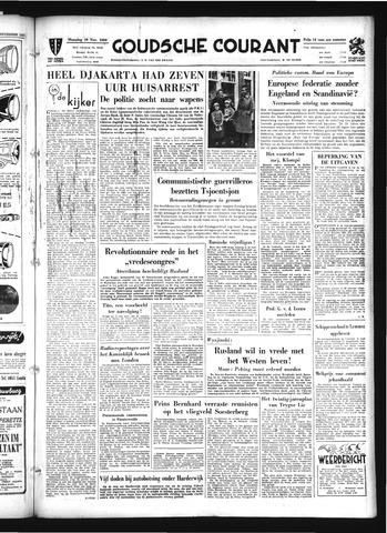 Goudsche Courant 1950-11-20
