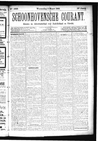 Schoonhovensche Courant 1921-03-02