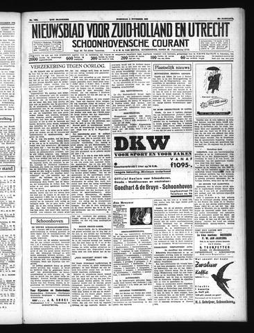 Schoonhovensche Courant 1937-11-03