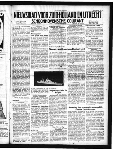 Schoonhovensche Courant 1950-03-20