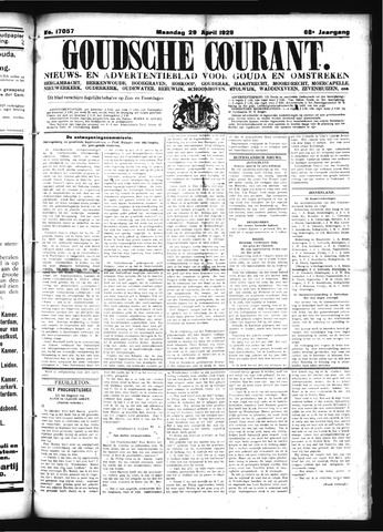 Goudsche Courant 1929-04-29