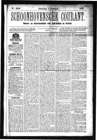 Schoonhovensche Courant 1901-01-01