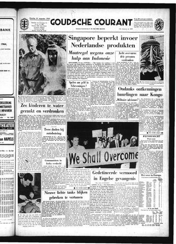 Goudsche Courant 1964-08-25