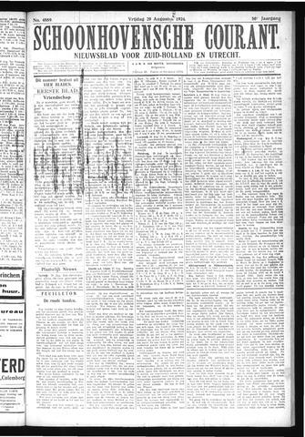 Schoonhovensche Courant 1924-08-29