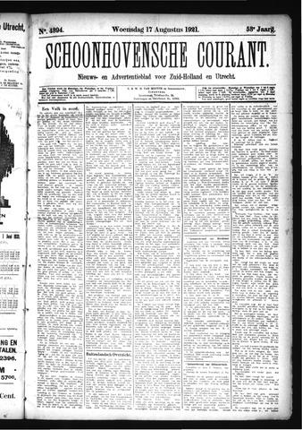 Schoonhovensche Courant 1921-08-17