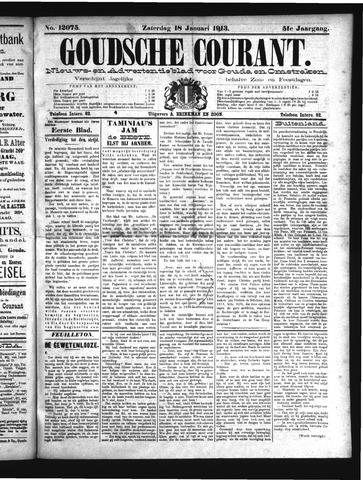 Goudsche Courant 1913-01-18