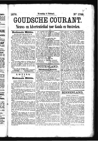 Goudsche Courant 1876-02-09