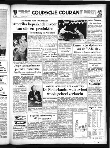 Goudsche Courant 1959-03-11