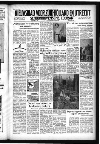 Schoonhovensche Courant 1954-08-04