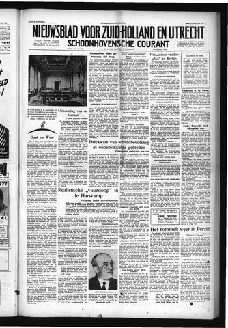 Schoonhovensche Courant 1954-01-20