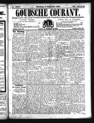 Goudsche Courant 1916-09-11