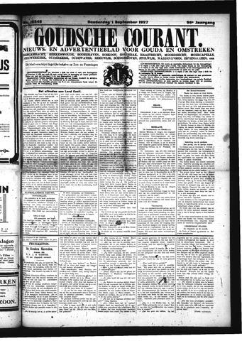 Goudsche Courant 1927-09-01