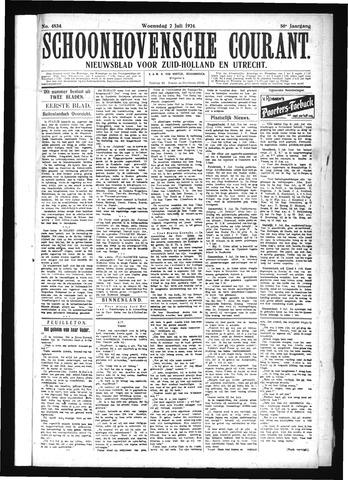 Schoonhovensche Courant 1924-07-02