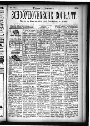 Schoonhovensche Courant 1916-11-14