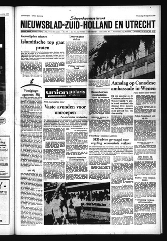 Schoonhovensche Courant 1969-08-27