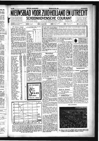 Schoonhovensche Courant 1933-04-28