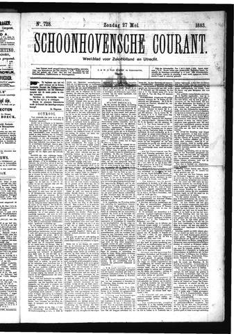 Schoonhovensche Courant 1883-05-27