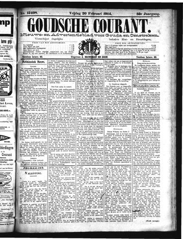 Goudsche Courant 1914-02-20
