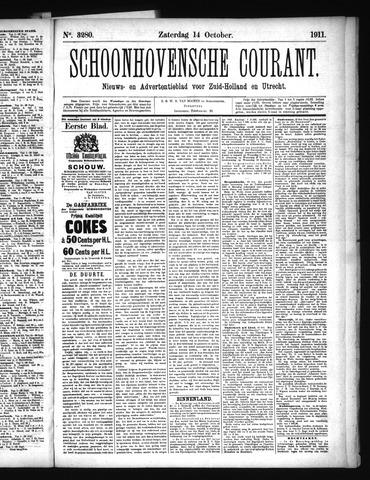 Schoonhovensche Courant 1911-10-14