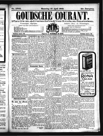 Goudsche Courant 1912-04-15