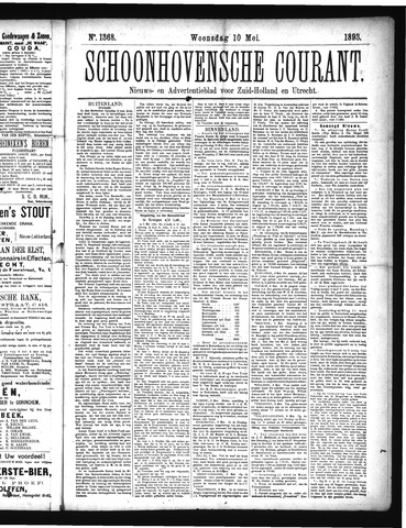 Schoonhovensche Courant 1893-05-10