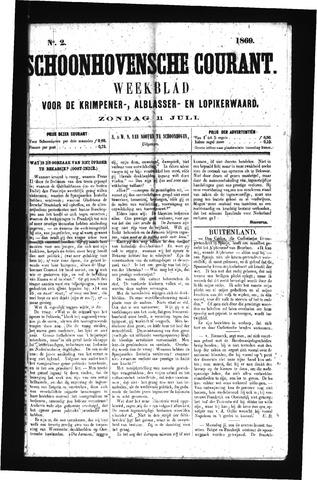 Schoonhovensche Courant 1869-07-11