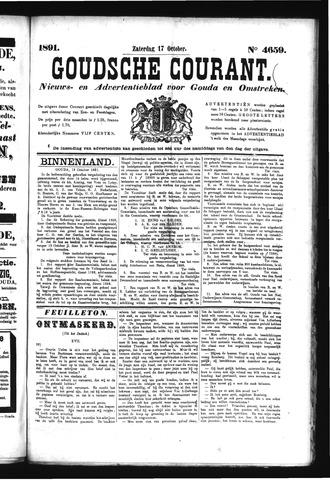 Goudsche Courant 1891-10-17