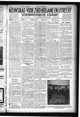 Schoonhovensche Courant 1932-09-19