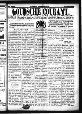 Goudsche Courant 1926-01-20