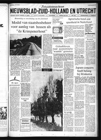 Schoonhovensche Courant 1972-09-08