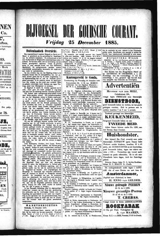 Goudsche Courant 1885-12-25