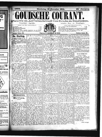 Goudsche Courant 1914-12-10