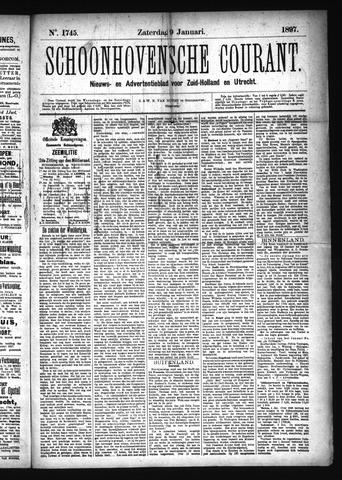 Schoonhovensche Courant 1897-01-09