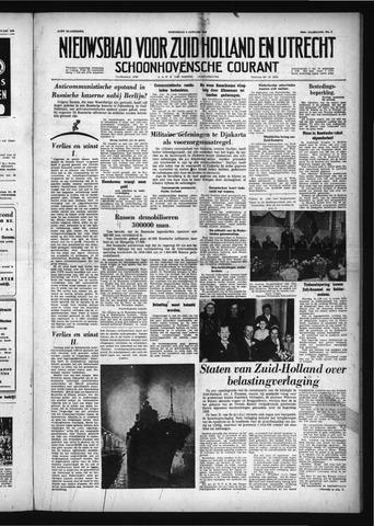 Schoonhovensche Courant 1958-01-08