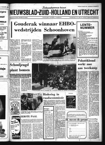 Schoonhovensche Courant 1976-03-19
