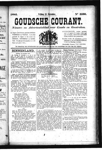 Goudsche Courant 1884-11-21