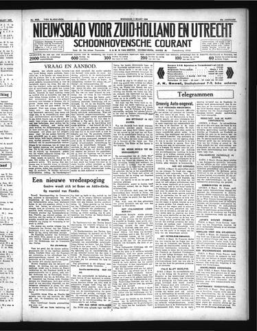 Schoonhovensche Courant 1936-03-04