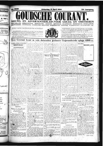 Goudsche Courant 1934-04-21