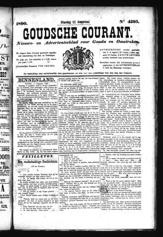 Goudsche Courant 1890-08-12