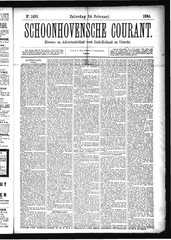 Schoonhovensche Courant 1894-02-24