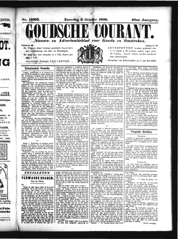 Goudsche Courant 1909-10-02