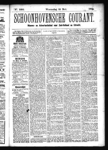 Schoonhovensche Courant 1901-05-22