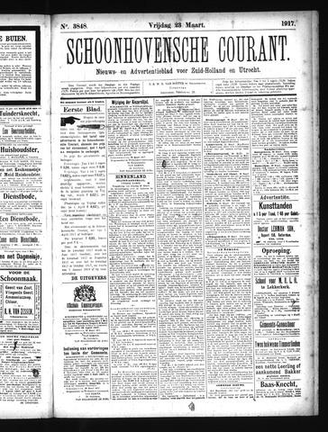 Schoonhovensche Courant 1917-03-23