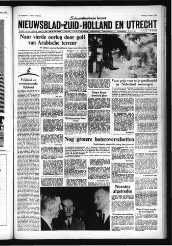Schoonhovensche Courant 1968-03-22