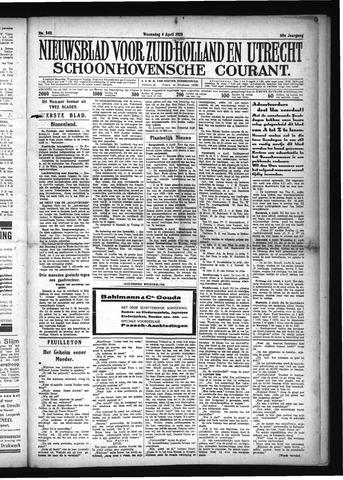 Schoonhovensche Courant 1928-04-04