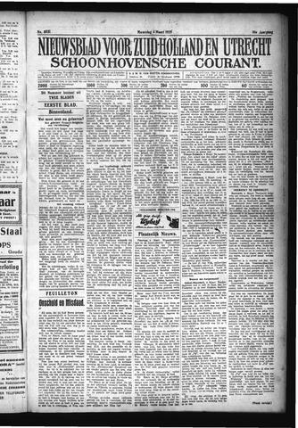 Schoonhovensche Courant 1929-03-04