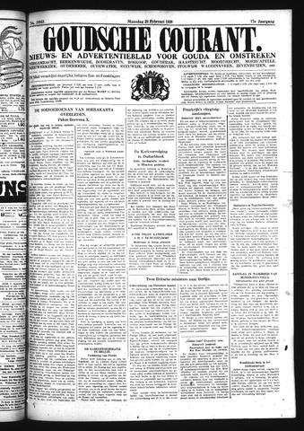 Goudsche Courant 1939-02-20