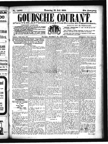 Goudsche Courant 1919-07-21