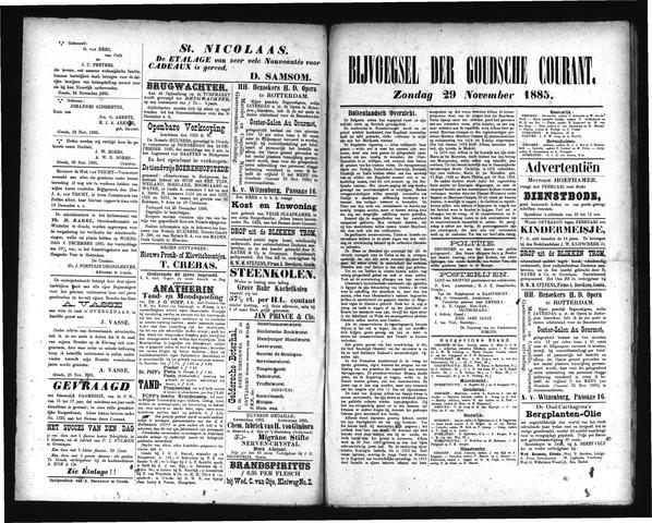Goudsche Courant 1885-11-29