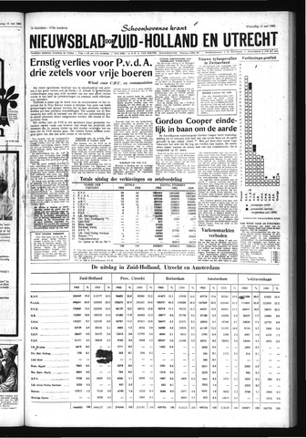 Schoonhovensche Courant 1963-05-15